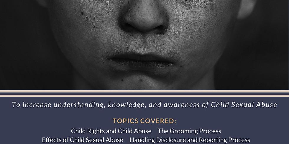 Child Sexual Abuse Prevention Talk
