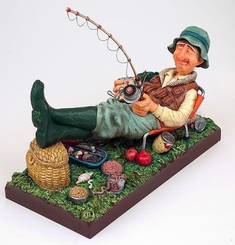 The Fisherman ÔÇó Le Pe╠écheur 1 (square