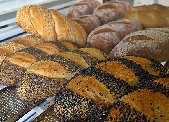 Baguetinha de pão francês
