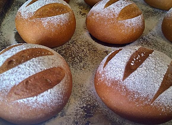 Pão Mediterrâneo para Hambúrguer