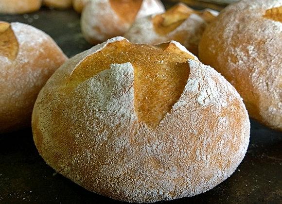 Pão Rústico de batata (Hambúrguer)
