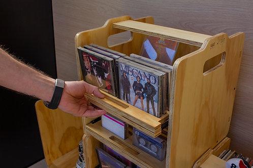 Cajón Apilable CDs/Cassettes (Unidad)
