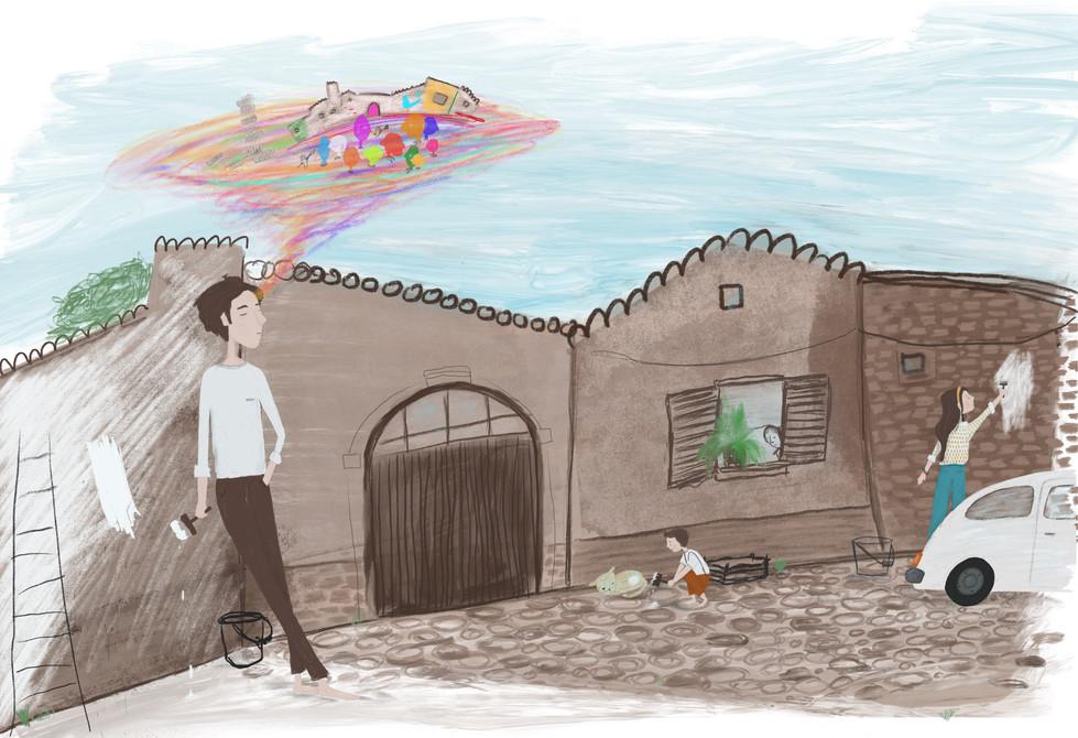 San Sperate Illustration, 2019.