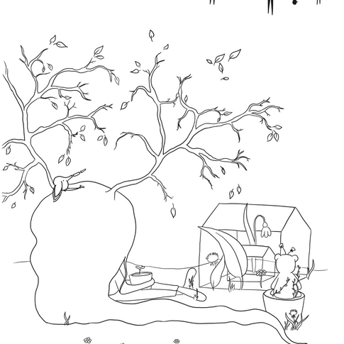 Coloring Page - Spring
