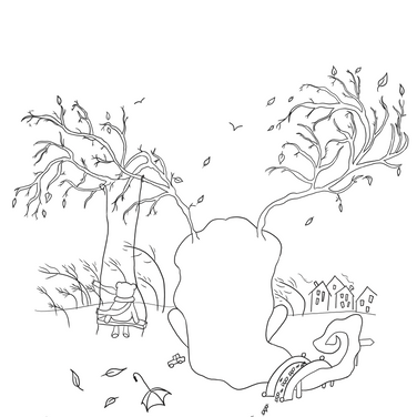 Coloring Page - Fall