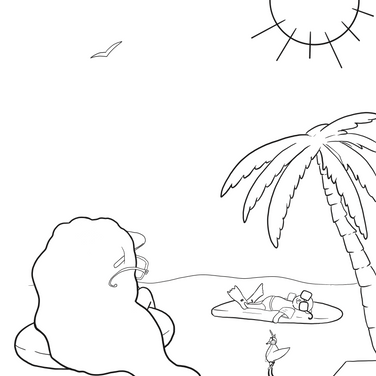 Coloring Page - Summer