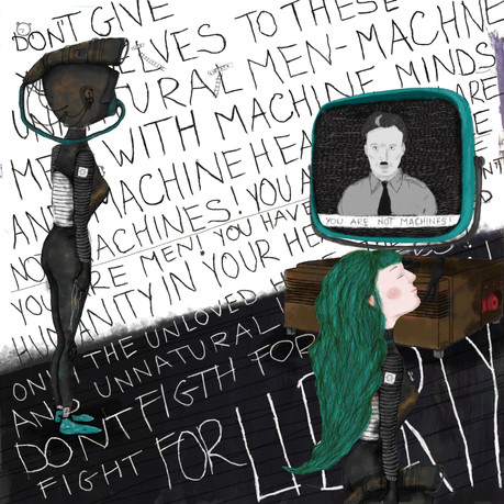 you are not machines