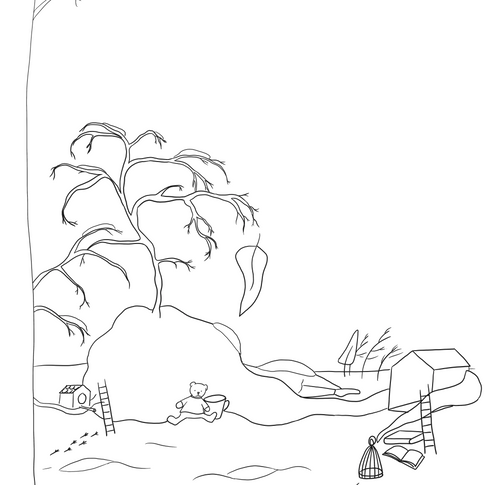 Coloring Page - Winter
