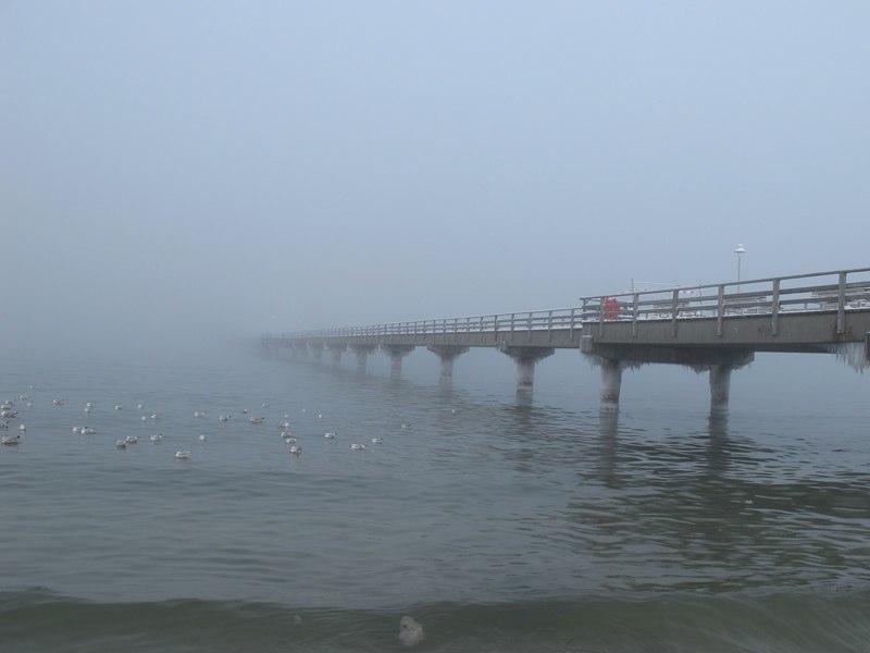 Winter-Seebrücke