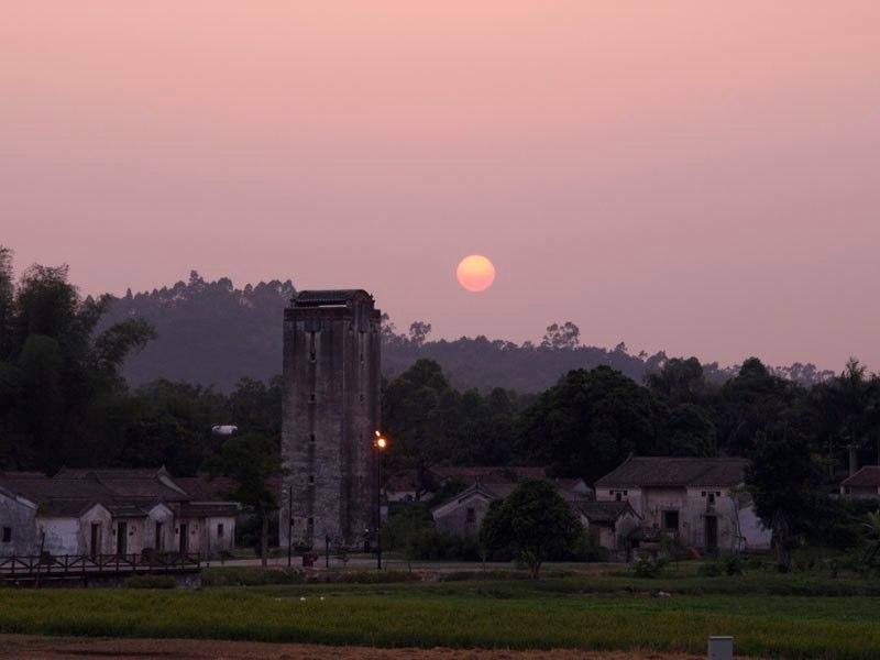 Guanlan-Sonnenuntergang