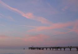 Sommer-Seebrücke