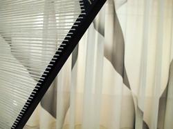 still verhangen