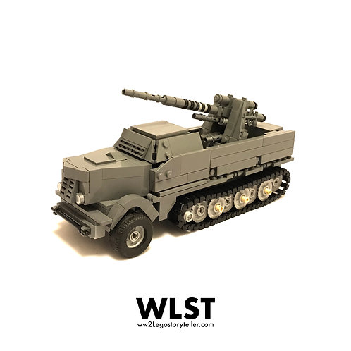 SET 23: SDKFZ9 FAMO with FLAK18 Gun