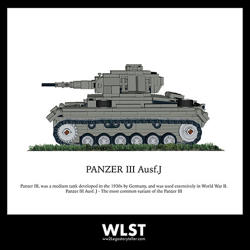 PANZER 3 Ausf.J (Dk.Grey)