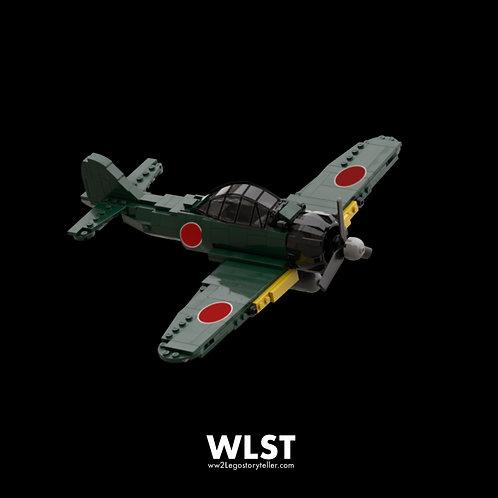 Japanese A6M ZERO_GREEN