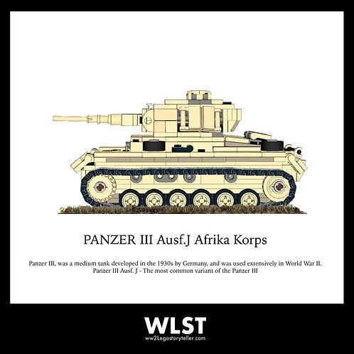 Afrika Korp PANZER 3 Ausf.J