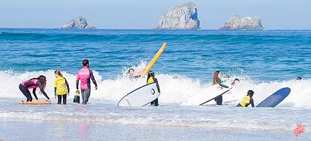 Surf en Cantabria, surf en la playa de Valdearenas