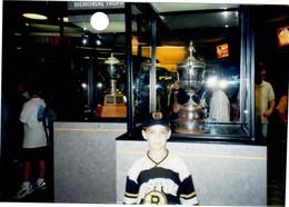 Norris (at left) & King Clancy Trophy