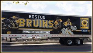 Bruins 18 Wheeler Ad