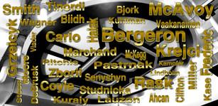 Boston Bruins Players Collage