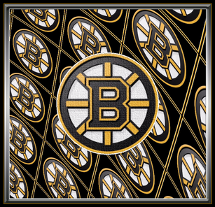 Bruins Multi Logo with Canvas