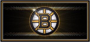 Bruins Sliced Logo Design