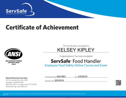 Keeping Food Safe | SERVSAFE COURSES AND EXAMS