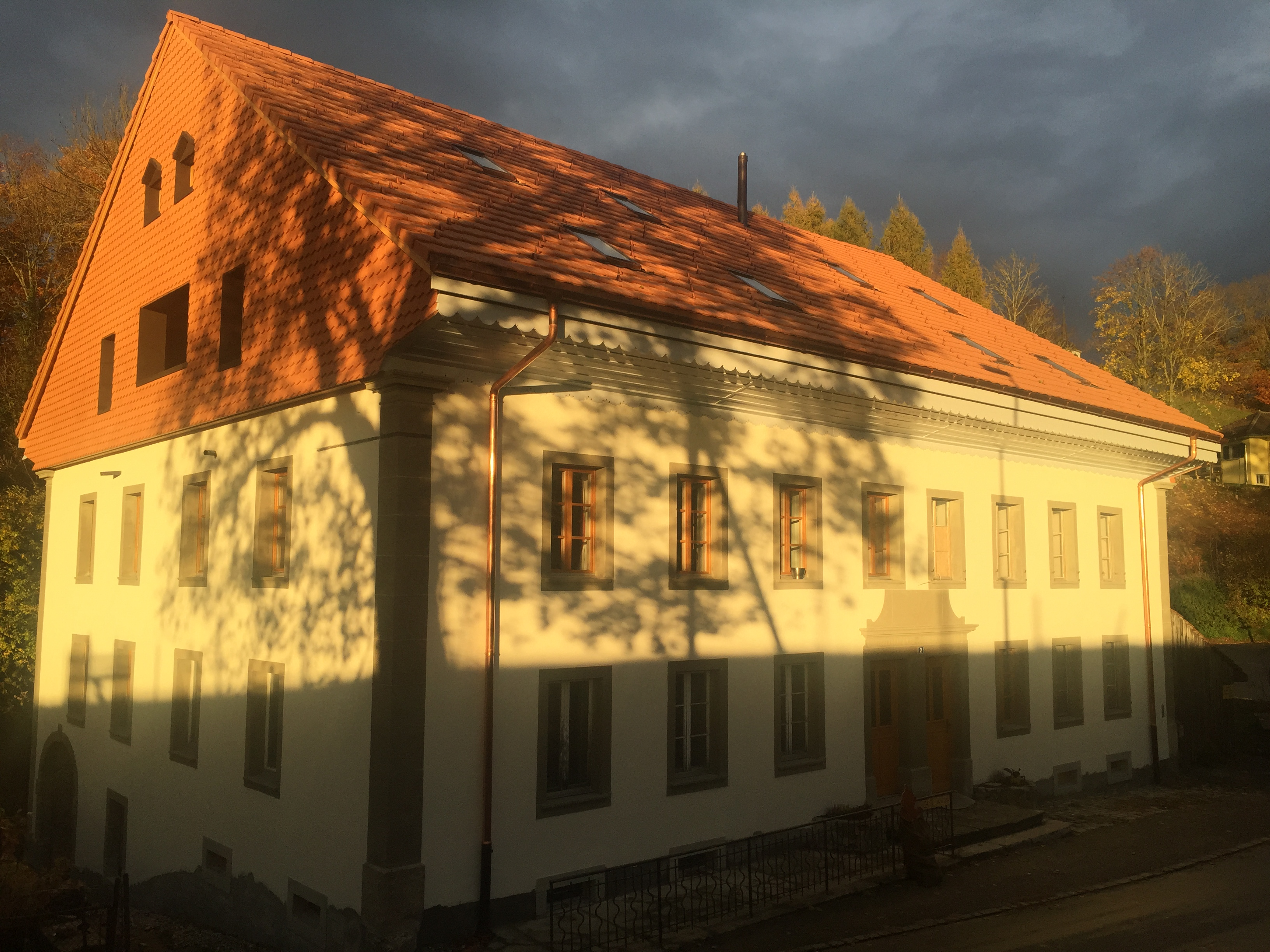 moulin automne