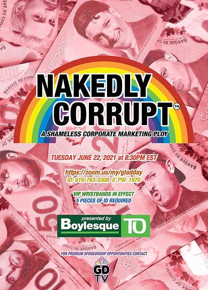 nakedly corrupt