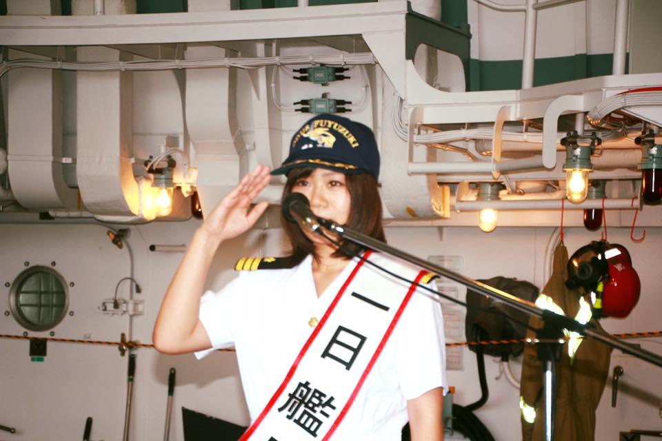 2015.6.27護衛艦『ふゆづき』1日艦長-2
