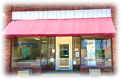 Red Cloud Main Street Clinic Soft Edges.