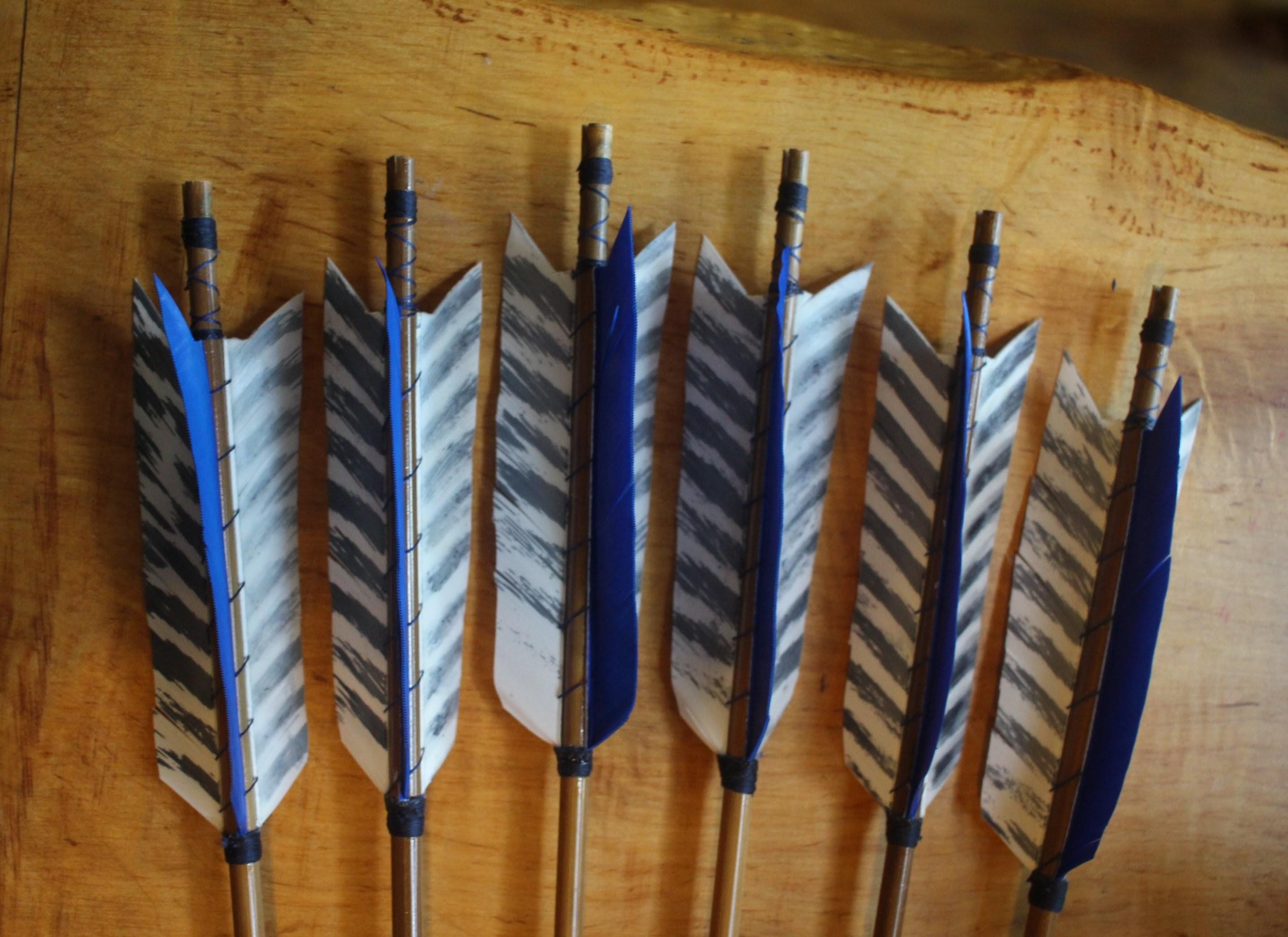 Joys arrows fletchings