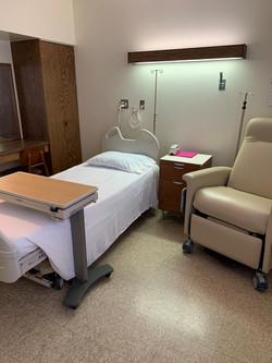 Patient room view 2