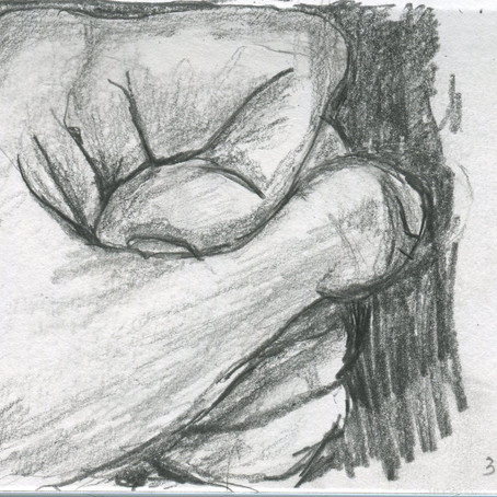 Social Distancing-Trying to draw hands.