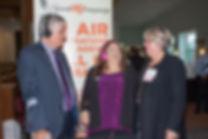 Minister Ken Wyatt with Terrie Leoleos (