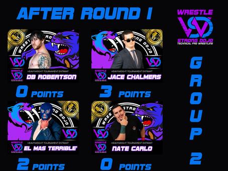 Round 1 Heavyweight Tournament Group 2