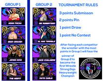 8 man Heavyweight Tournament