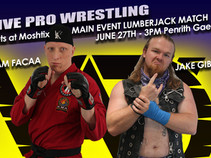 Our first Lumberjack Match