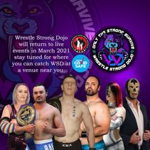 WSD Live Events Return