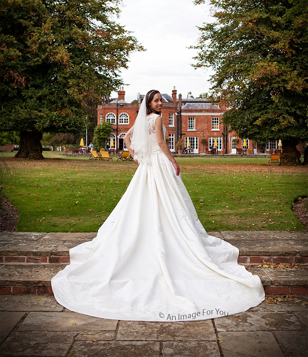 Beautiful Bride at Royal Berkshire Hotel, Ascot