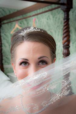 Bride's eyes © Bob Lalli