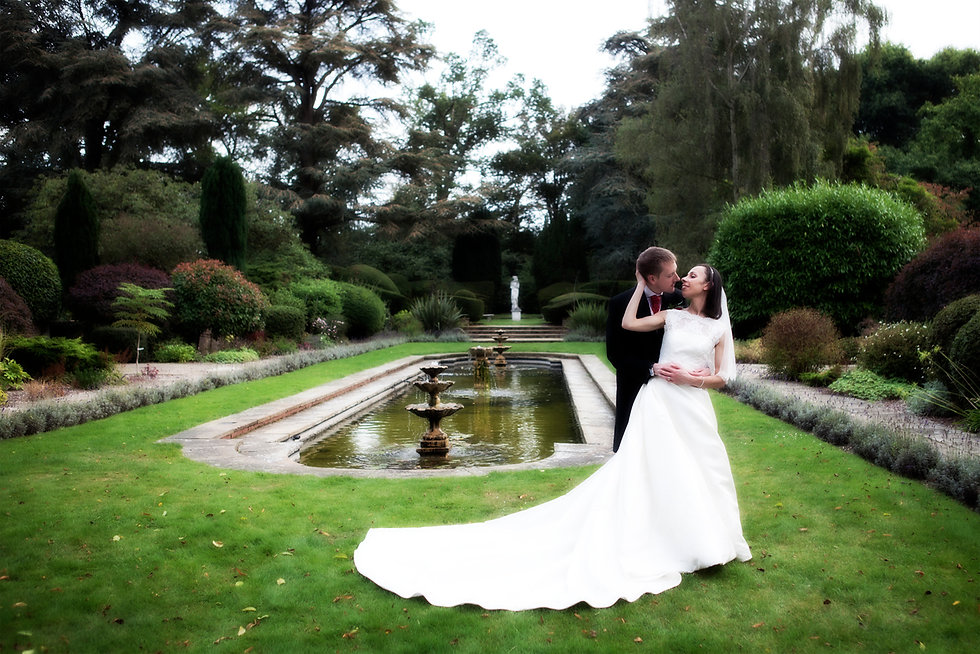 Wedding Couple at Royal Berkshire Hotel, Ascot By An Image For You