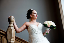 Bride on stairs 2 © An Image For You