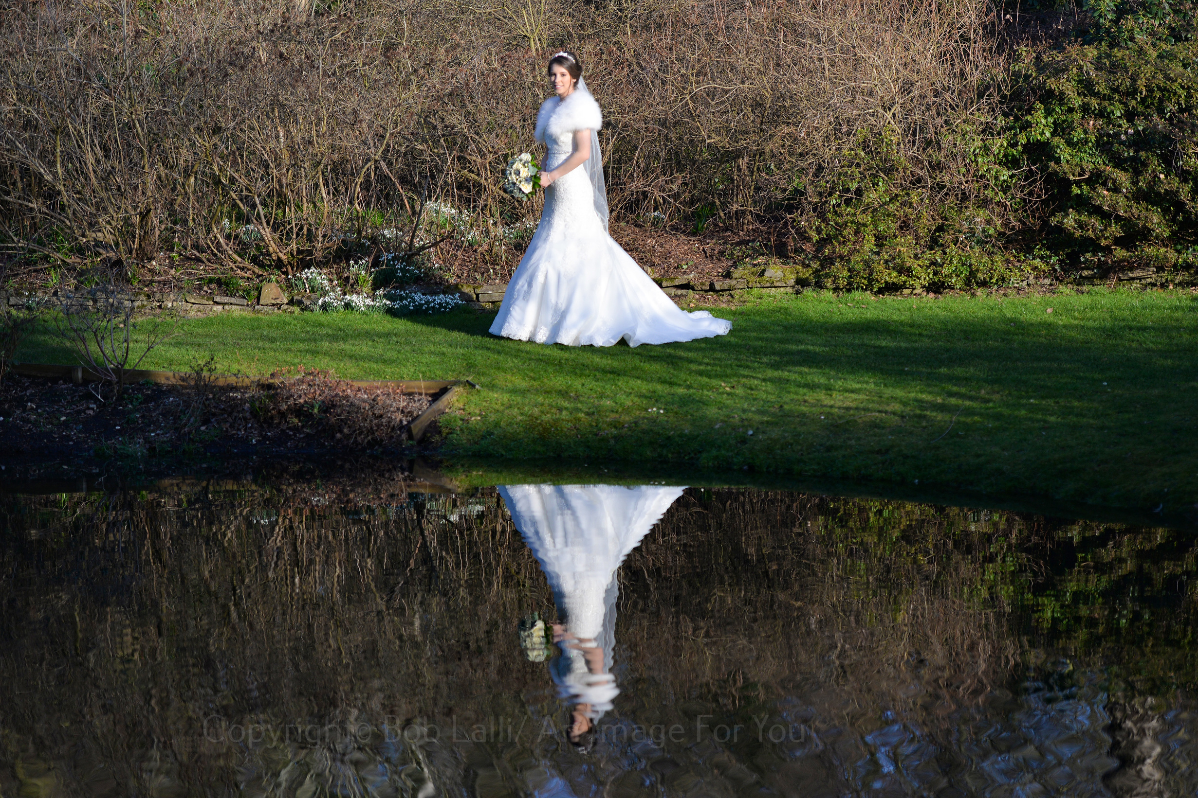 Reflection of Bride