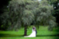A Kiss under the tree at Ufton Court