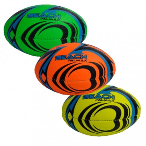 SOFT TOUCH MINI RUGBY BALL  ASSORTED