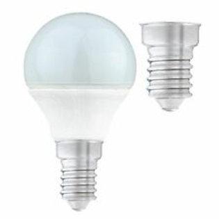 5.5w = 40w = 470 lumens - Status - LED - Round - SES - PA - Pearl