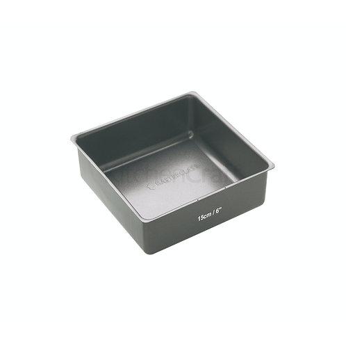 MC DEEP CAKE PAN 15CM N/S BLACK