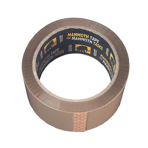 50m Brown Parcel Tape 48mm - 2PACKLABBN (WT387)