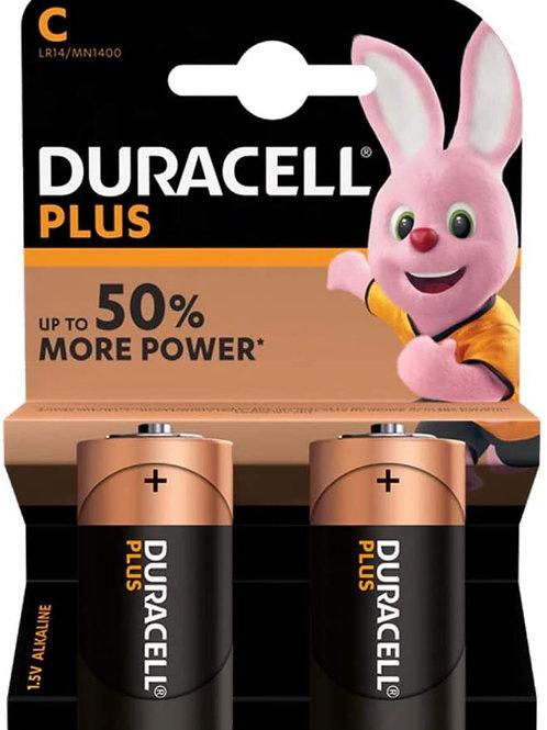 Duracell MN1400 / C / 1.5V  Batteries 2pk